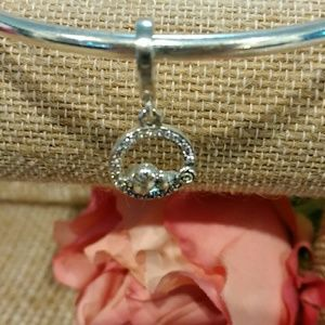 Pandora's Mother/Child dangle Bird Charm